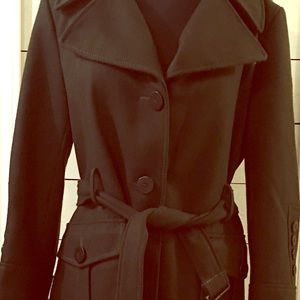 Kenneth Cole Reaction Wool Coat SZ 14
